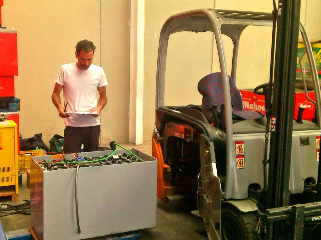 Reparación y Mantenimiento Baterías Industriales Almansa
