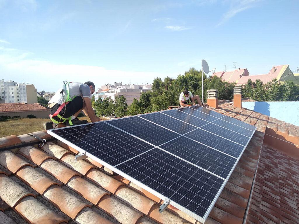 Placas solares Almansa - Ecovitab