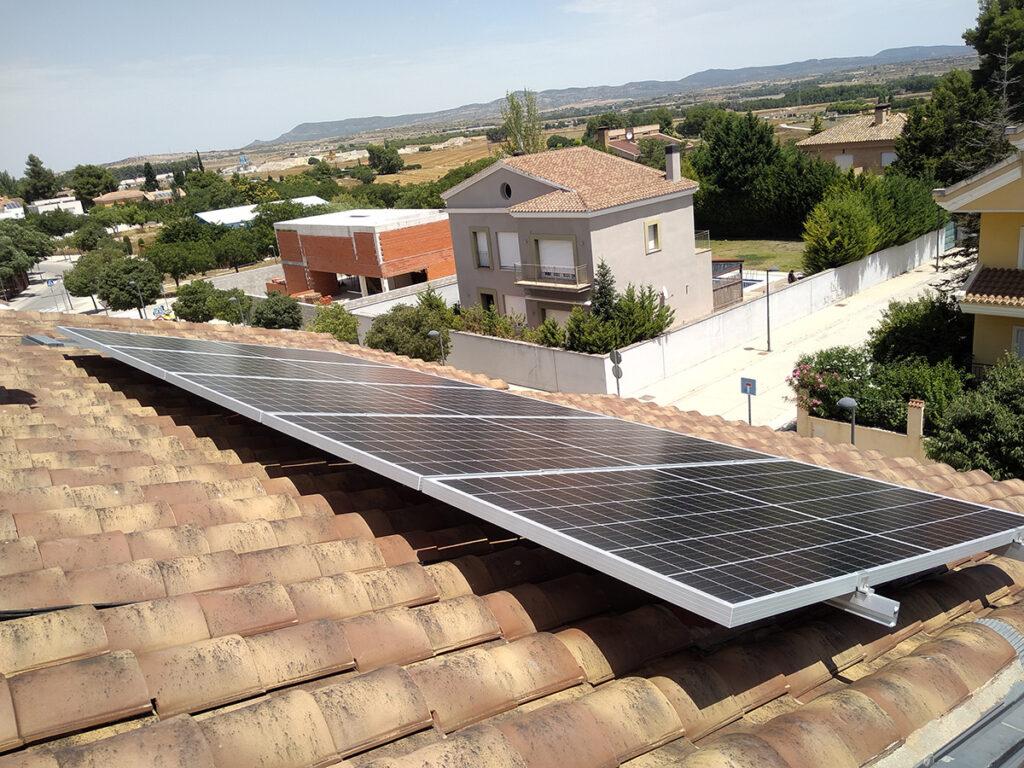 Instalación Placas Solares - ecoVitab (Almansa)